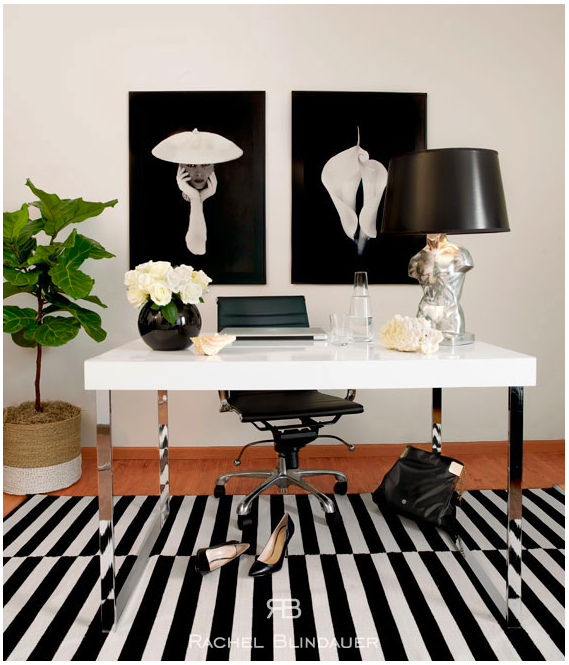 Black-and-white-office
