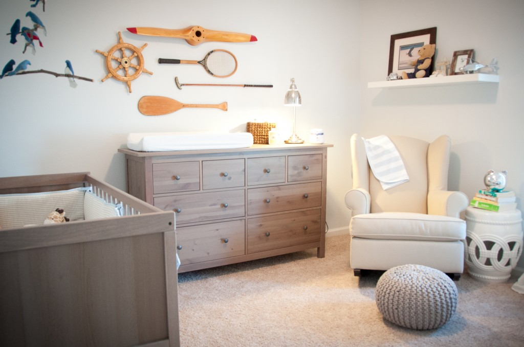 Sophisticated-baby-boy-nursery